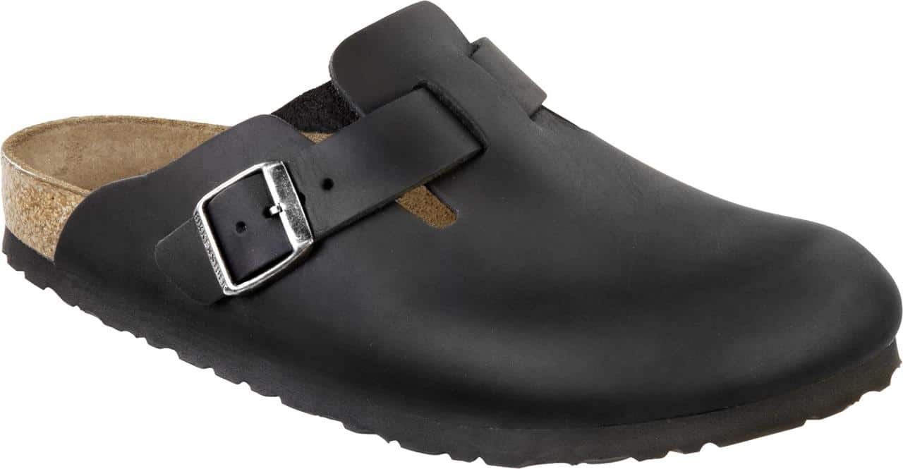 Noir Birkenstock Boston Qicgb