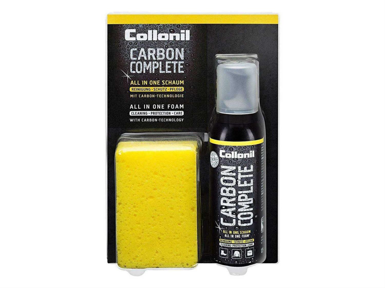 collonil carbon complete shoe care foam with leather sponge