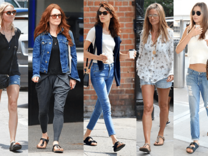 5 celebrities die Birkenstocks dragen