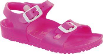 Birkenstock Rio Kids Neon Pink