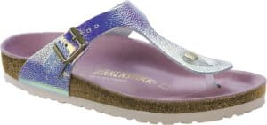 Birkenstock Gizeh Ombre Pearls Silver Orchid