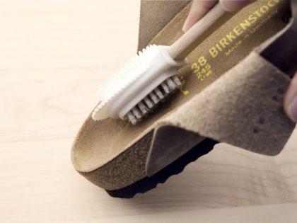 Hoe mijn Birkenstocks reinigen?