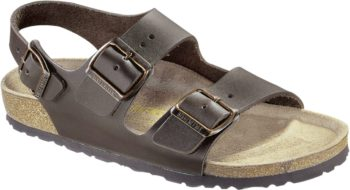 Birkenstock Milano Dark Brown Leder