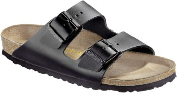 Birkenstock Arizona Black Gladleder