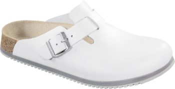Birkenstock Boston White Super Grip