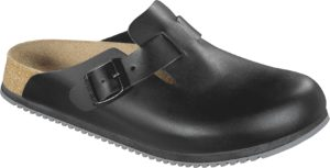 Birkenstock Boston Black Super Grip