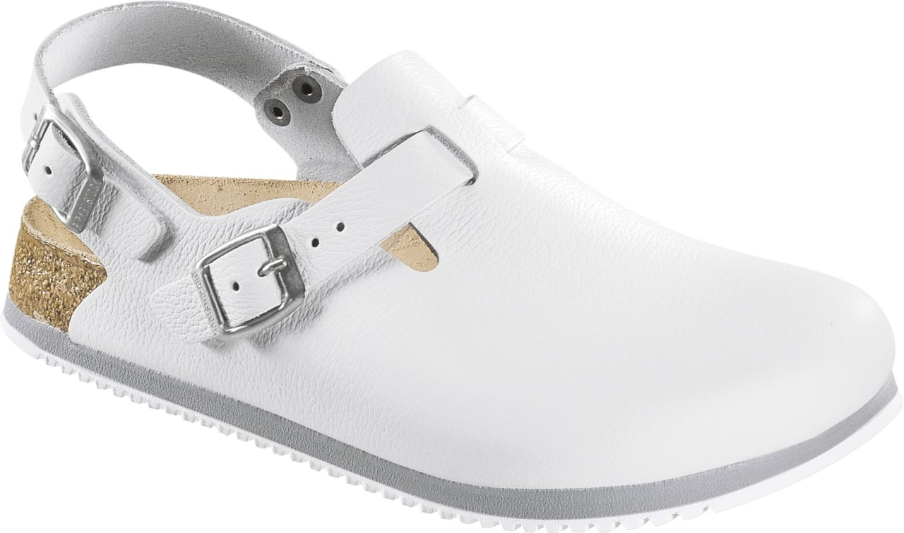 Birkenstock Tokio White Super Grip