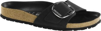 Birkenstock Madrid Big Buckle Black