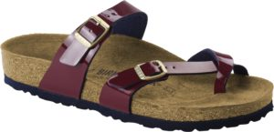 Birkenstock Mayari Two Tone Wine