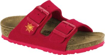 Birkenstock Arizona Kids Snow Stars Red