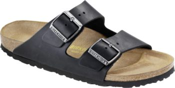 Birkenstock Arizona Black Leder