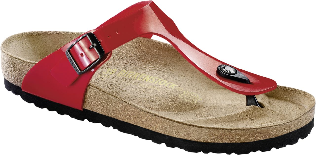 Birkenstock Gizeh Tango Red Patent