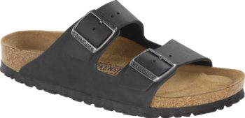 Birkenstock Arizona Black Leder Soft