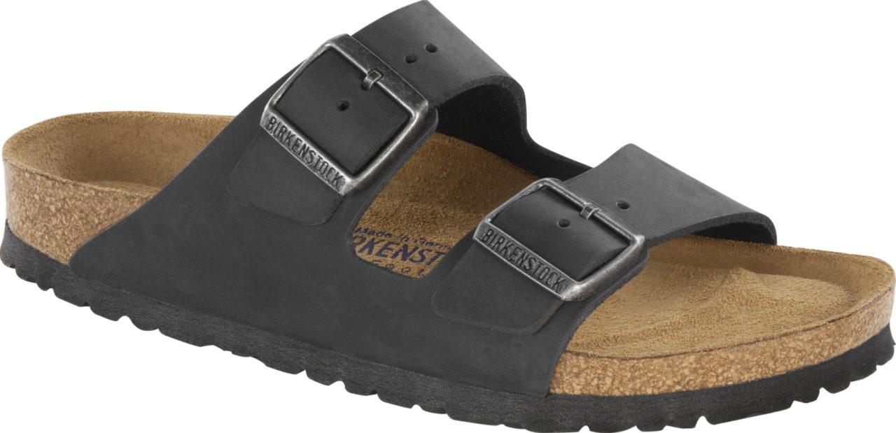 Birkenstock Arizona Black Leder Soft
