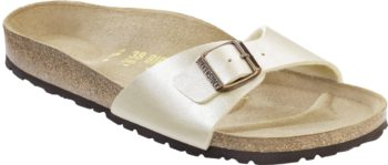 Birkenstock Madrid Pearl White Graceful