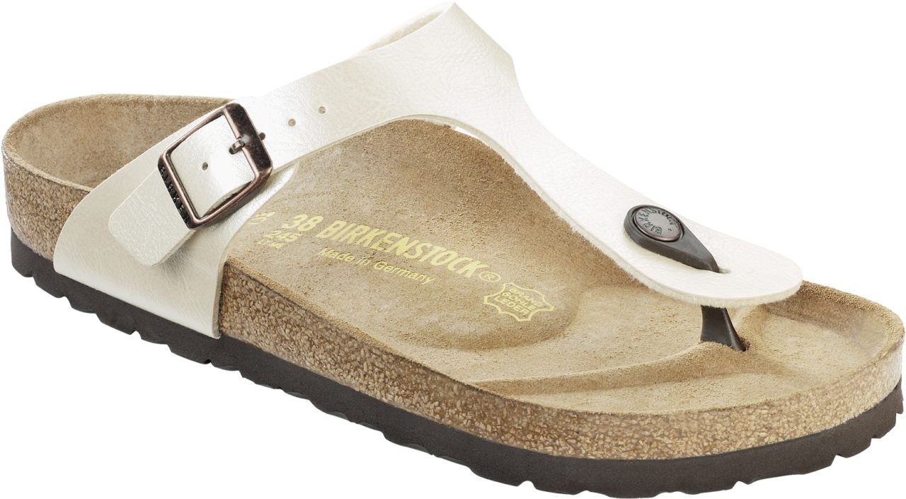 Birkenstock Gizeh Pearl White Graceful