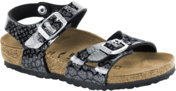 Birkenstock Rio Magic Snake Black Silver