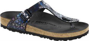 Birkenstock Gizeh Metallic Stones Black