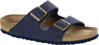 Birkenstock Arizona Steer Indigo Soft