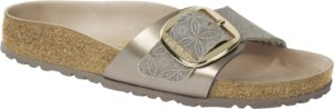 Birkenstock Madrid Big Buckle Ceramic Pattern Blue