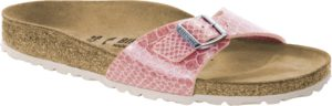 Birkenstock Madrid Magic Snake Rose