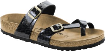 Birkenstock Mayari Magic Snake Black