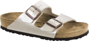 Birkenstock Arizona Graceful Pearl White