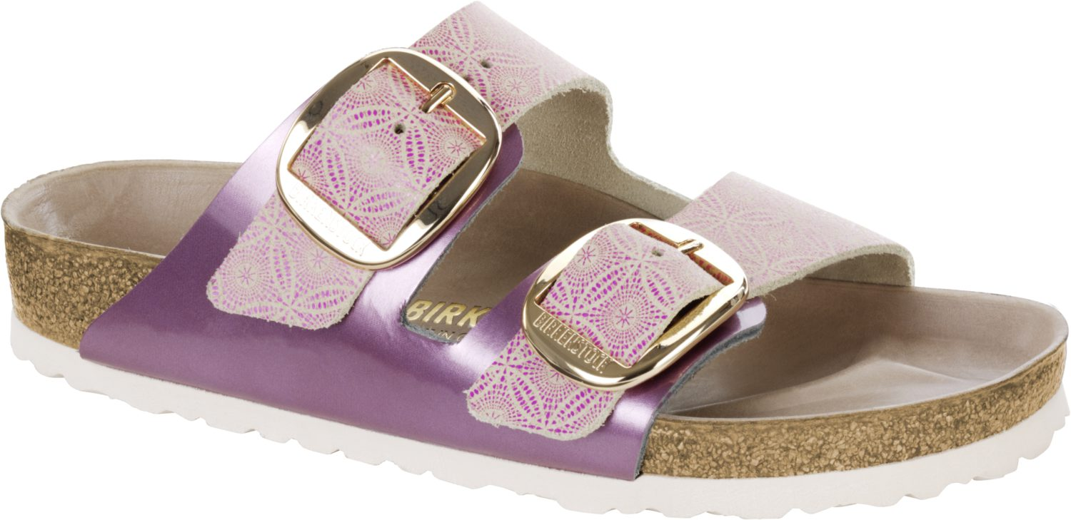 Birkenstock Arizona Big Buckle Ceramic Pattern Rose