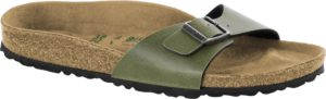 Birkenstock Madrid Pull Up Olive Vegan