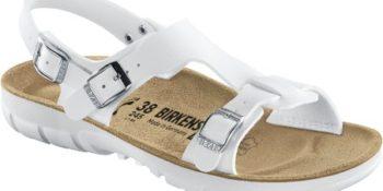 Birkenstock Saragossa White soft