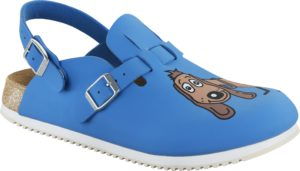 Birkenstock Kay Dog Blue Supergrip