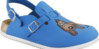 Birkenstock Kay Dog Blue Supergrip