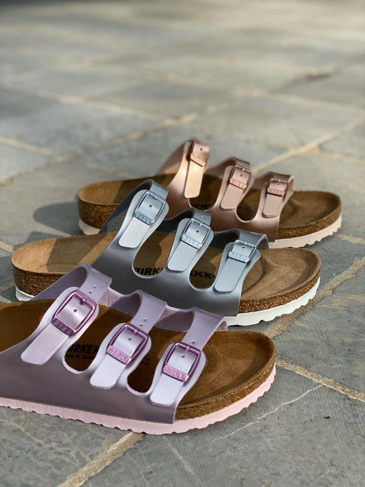 Birkenstock Florida Electric Metallic